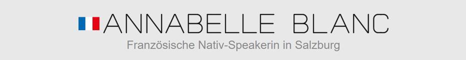 Annabelle Blanc - Französische Nativ Speakerin in Salzburg